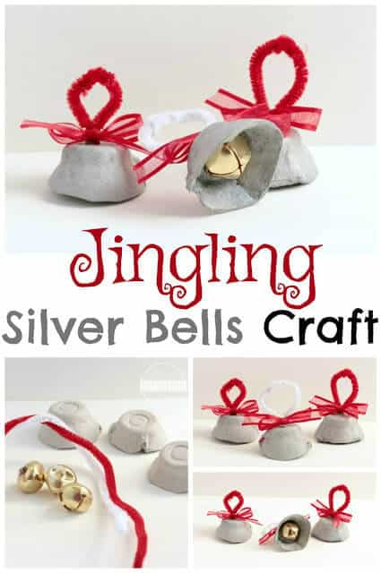 This is such a cute and easy-to-makeChristmas bell craft. All you need are a few simple materials to make this funChristmas Craft for kids! Children from toddler, preschool, pre-k, and kindergarten age will have fun making these Bell Crafts.