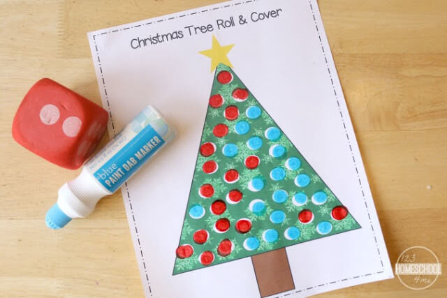 Christmas Printables for toddler, preschool, kindergarten, first grade, 2nd grade