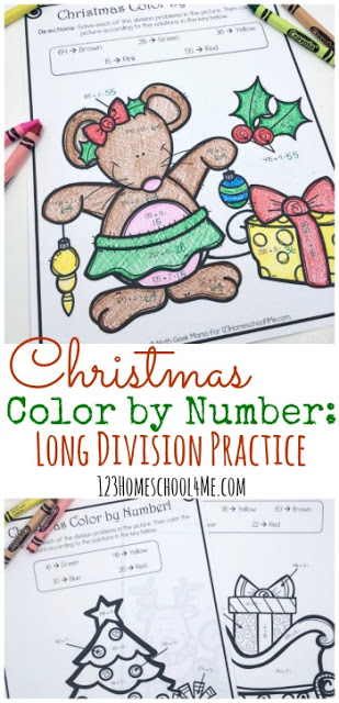 Free-Christmas-Color-by-Division