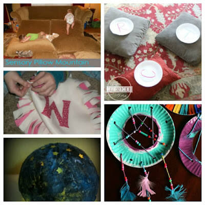 Kids Activities for celebrating Pajama Day