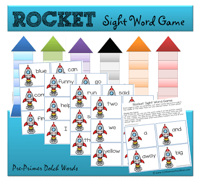 Rocket Sight Words Game