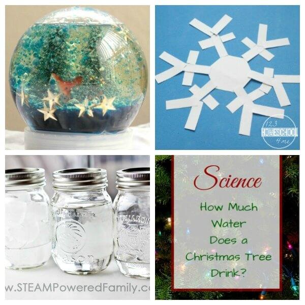 Christmas Science for Toddler, preschool, prek, kindergarten, first grade, 2nd grade, 3rd grade, 4th grade, and 5th grade kids