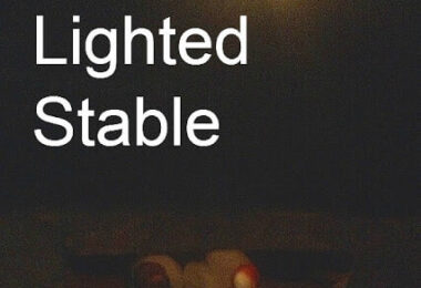 Lighted Stable Christmas STEM Project