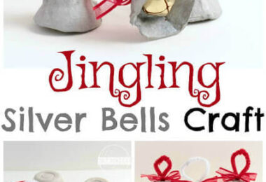 Jingling Silver Bells Christmas Craft