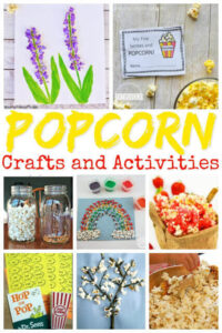 National Popcorn Day Crafts for Kids