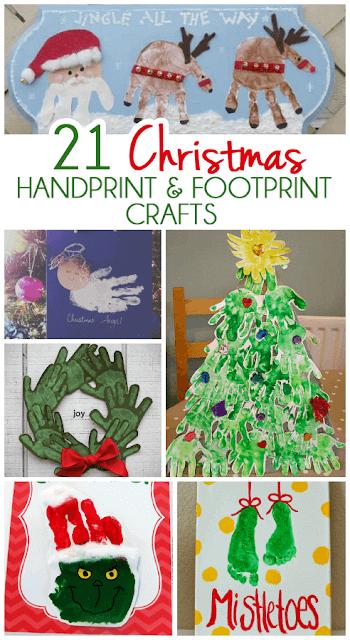 21 Handart Christmas Crafts for Kids