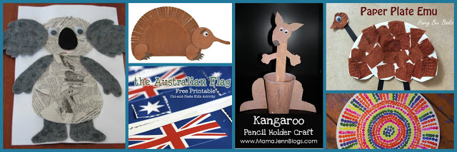 Crafts to Celebrate Australia Day
