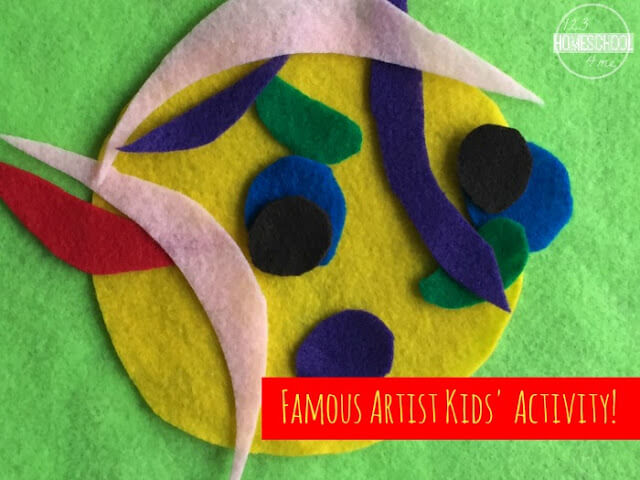 famous artist picasso art project for kids