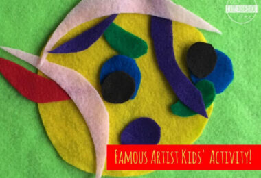 Picasso Craft Felt Art