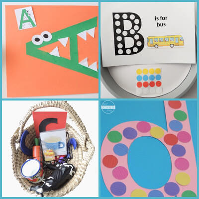 letter a, letter b, letter c, letter d