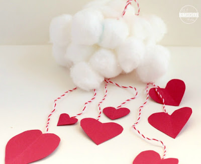 simple valentines day crafts for toddler, preschool, kindergarten