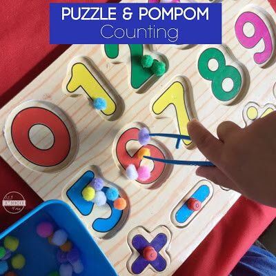 simple counting activity for preschool math