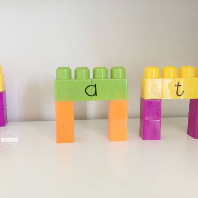 word family learning activity for kids