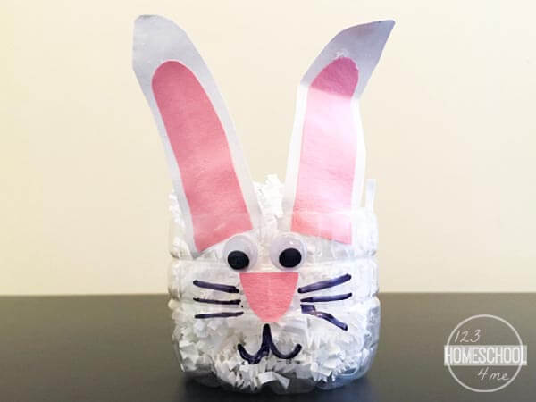 BUNNY 2 easter basket kids spring craft