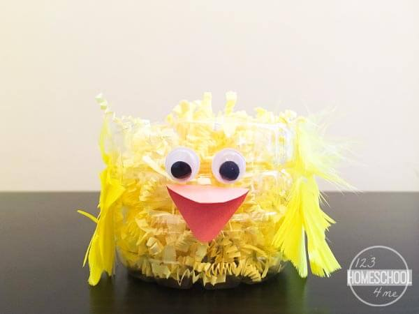 CHICK 2 easter basket kids spring craft