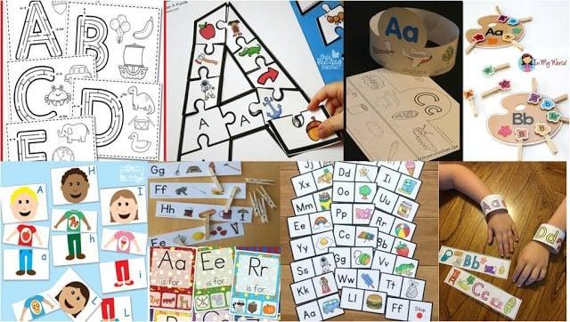 Printable Alphabet Games