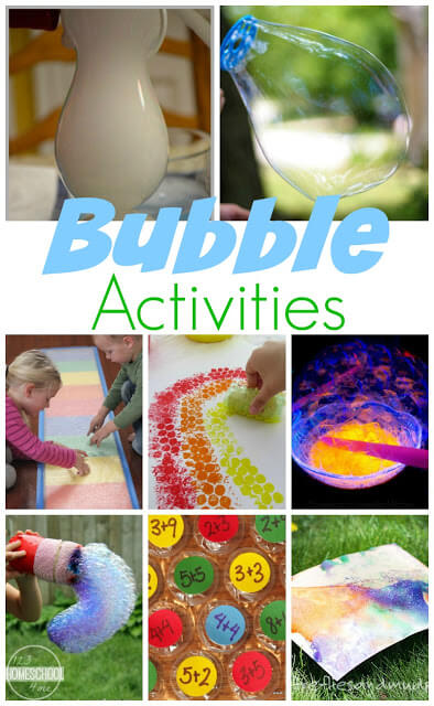 National Bubbles Week is the 2nd week of March - here are tons of really fun ways to learn, explore, and play with bubble activities for kindergarten, first grade, 2nd grade, 3rd grade, 4th grade, and 5th grade students.