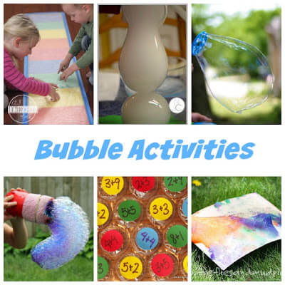 25 Outrageously fun activities for National Bubble Week