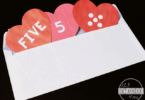 Valentine Hearts Preschool Number Matching