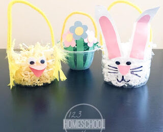 Simple Mini Basket Craft