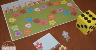 Spring-Flowers-Sight-Words-Game