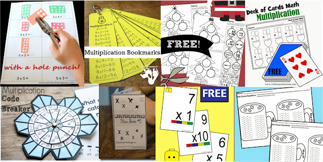 free printable multiplication worksheets for kids