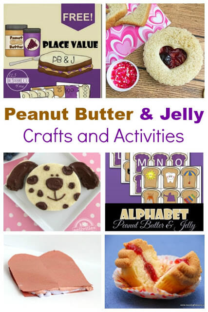 There are few things more American than peanut butter and jelly. In fact, we have a national Peanut Butter and Jelly Day celebrated every April 2nd! Celebrate this fun holiday for kids by sneaking in somepeanut butter activities, some cute peanut butter and jelly craft, and even some educational peanut butter and jelly printables. Use these ideas at home or in yourpeanut butter and jelly lesson plan kindergarten.