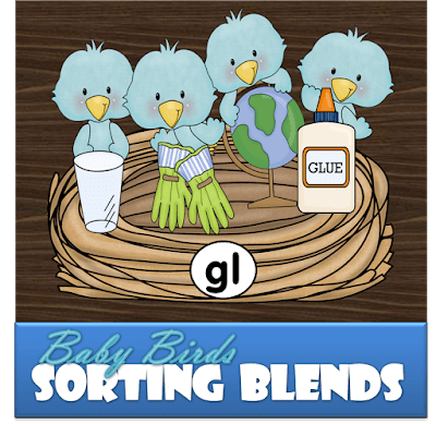 Blends activity to help preschool, prek, kindergarten, 1st grade, and 2nd grade with reading and spelling