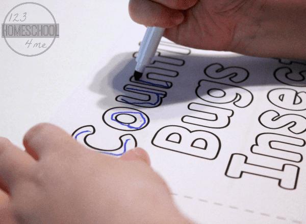 Easy Reader Preschool Counting Book