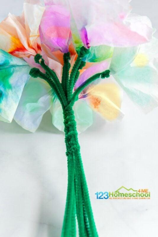make a whole bouquet of amazing chromatography stem project using Paper Chromatography