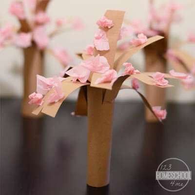 cherry blossom craft