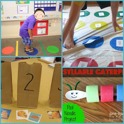 syllable activities for kids