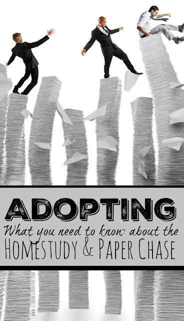 Adopting What you need to knwo about the homestudy and the paper chase