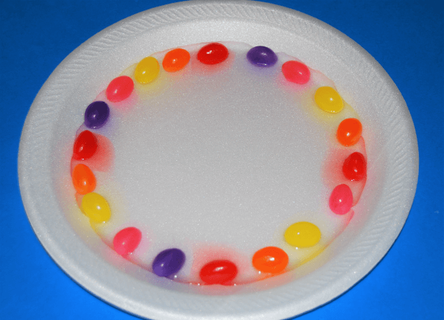 Jelly Beans and Water STEM Activity for Kids