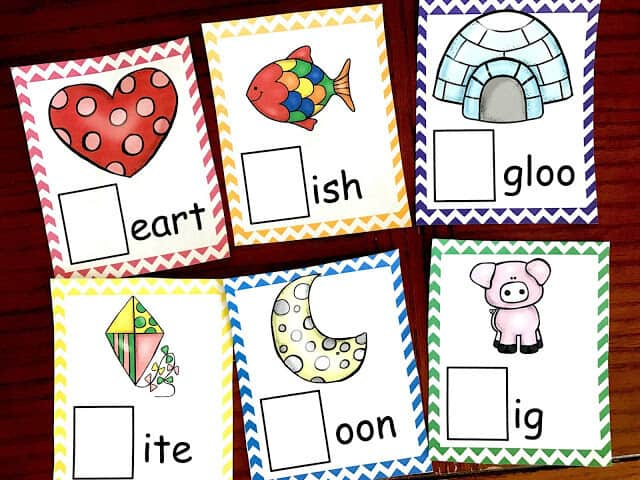 super cute Letter Sound Cards for learning alphabet letters, beginning sounds, and phonemic awareness