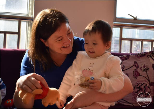 Meeting our daughter, adoption from china