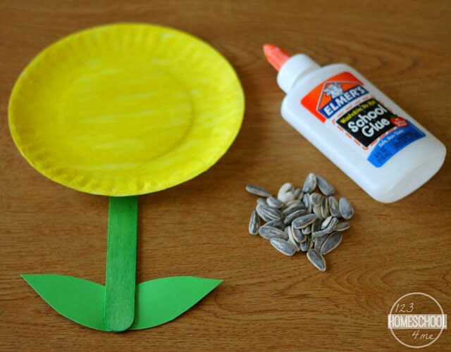 attach construction paper leaves