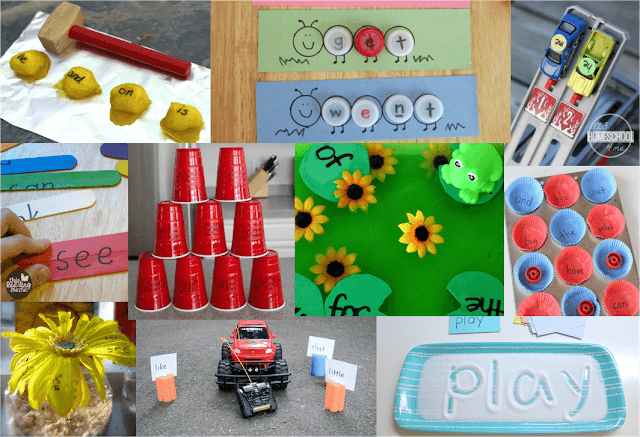 Sight Word Activities Games