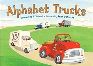 alphabet tow truck book