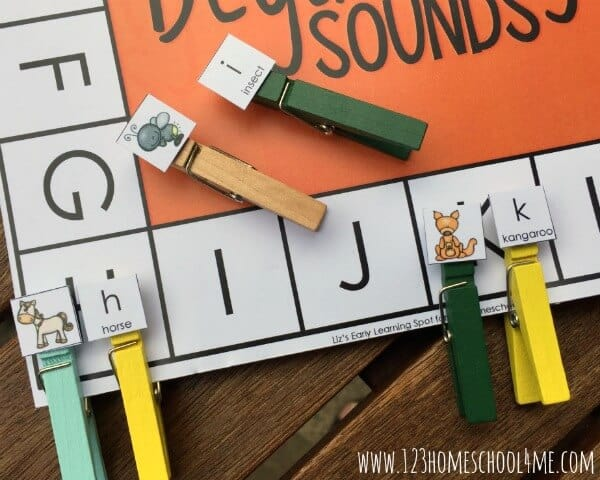 fun beginning sounds, educational activity matching upper and lowercase letters as well as pictures to the letters that make that sound