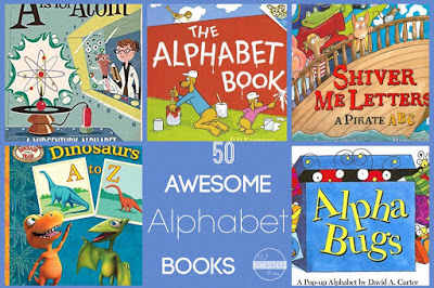 best alphabet books for preschool