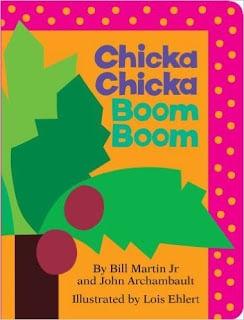 chicka chicka boom boom alphabet book