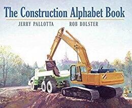construction alphabet book for kids