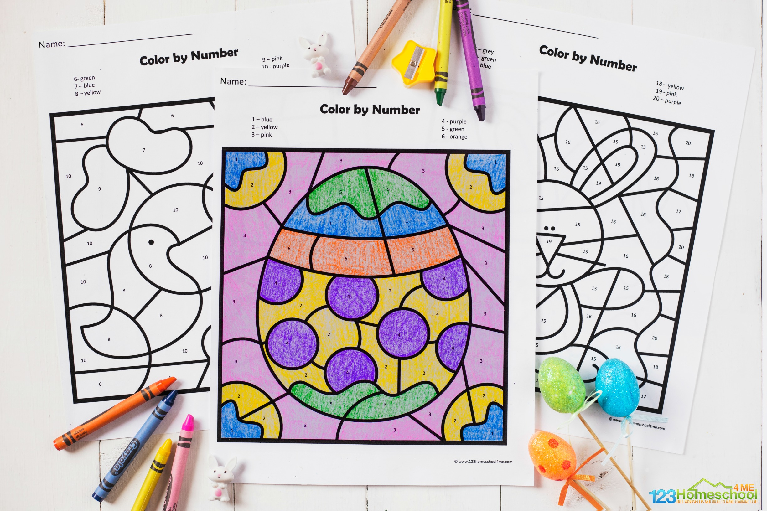 Free Color by Code – Math (Color by Number, Addition, Subtraction ... | 1024x1537