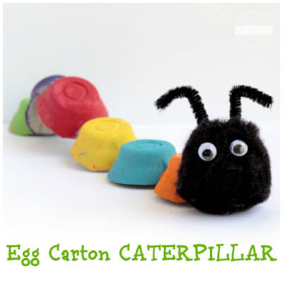 Egg Carton Caterpillars
