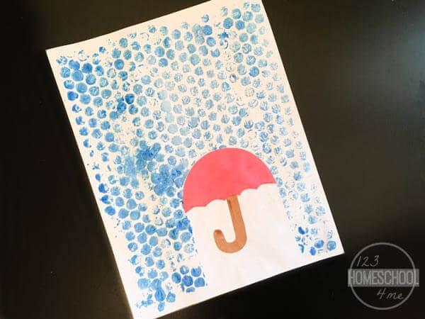 Bubble-Wrap-Rain-Craft
