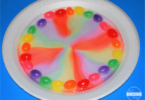 Jelly Bean STEM Rainbow activity