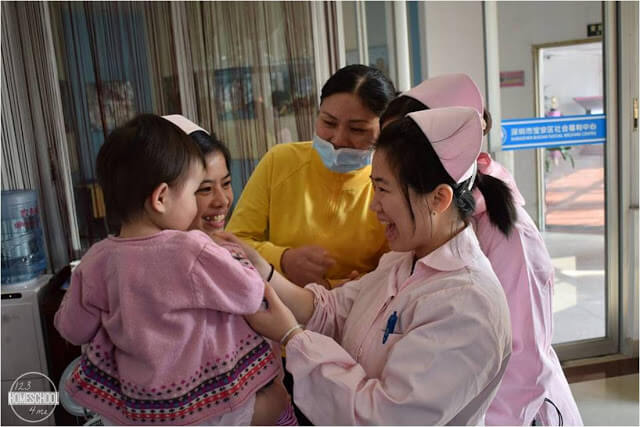 our daughte was very loved in her Chinese orphanage