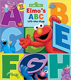 sesame street elmo lift the flap alphabet book