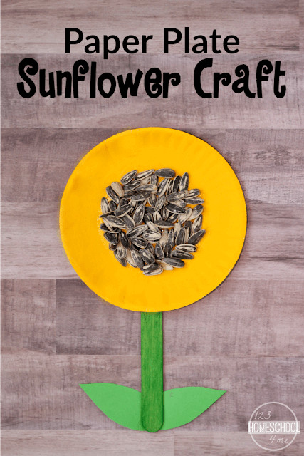 Whether you are celebrating the arrival of spring or the end of warm summer days, this super cute sunflower craft with paper plates is such a fun, simple craft to make with toddlers, preschoolers, kindergartners, and grade 1 students.